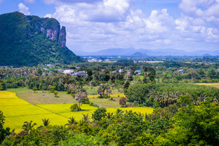 View around Phatthalung Rock, Thailand