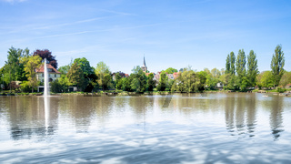 cloister lake in Sindelfingen Germany