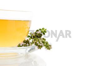 Breckland thyme tea.