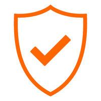Haken und Schild - Tick and shield