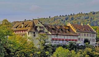 Schloss Laufen beim Rheinfall Schaffhausen, Schweiz