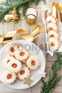 Leckere Plaetzchen zu Weihnachten