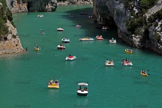 Lac de Sainte Croix, Provence, France