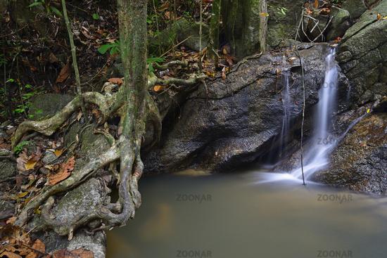 waterfall at Phuket, Thailand