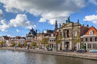 Embankment in Haarlem, Nitherlands