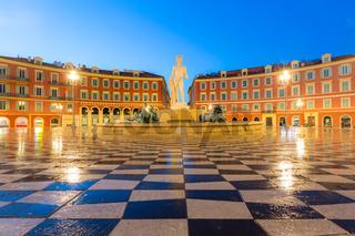 Place Massena square Nice, French Riviera