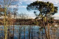 Flaken lake in Erkner near Berlin, Germany