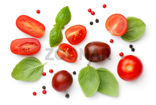 Composition With Cherry Tomatoes