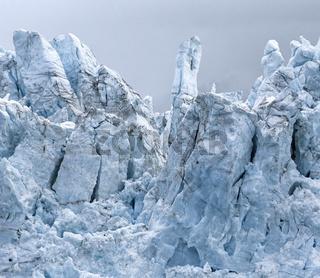 View of Margerie Glacier at Glacier Bay National Park, Alaska