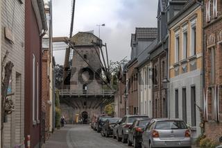 Brückstraße mit Kriemhildmühle, Xanten