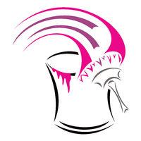 Conceptual symbol for painter