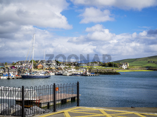 Dingle bay on dingle peninsula in Ireland