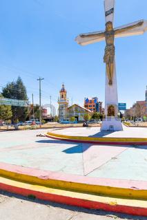 Bolivia La Paz Cross square