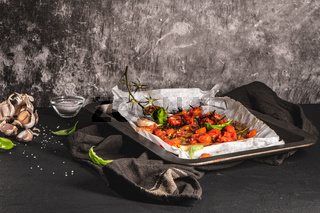 Roasted cherry tomotoes