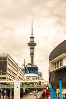 tower at Auckland New Zealand