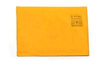 airmail envelope on white