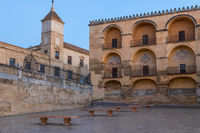 Historical buildings in the old town, Cordoba, Andalusia, Spain, Europe