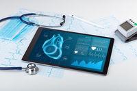 Modern medical technology concept