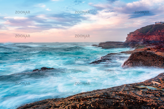 Wollongong Sea Coast in morning light