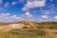 Dune landscape at the lighthouse