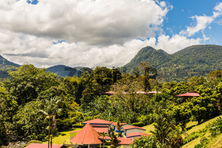 A typical view in Costa Rica