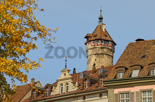Turm der Festung Munot, Schaffhausen, Schweiz
