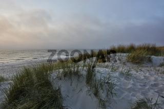 Ostsee Fischland im Abendlicht