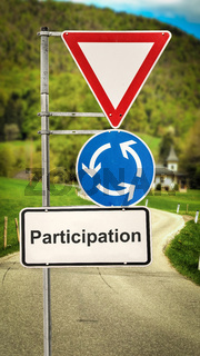 Street Sign to Participation