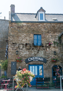 the historic Laer-Mor Creperie in La Conquet in Brittany