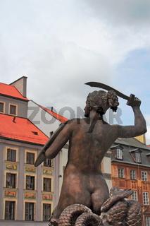 Warschauer Meerjungfrau