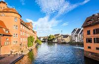Center of Strasbourg, France