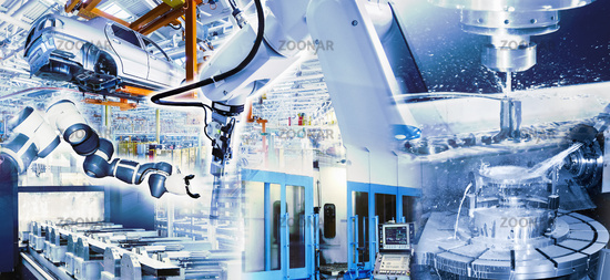 Modern production in the industrial enterprise