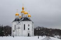 Catherine's 17th century church in Chernigov