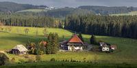 Unterfallengrundhof near Gütenbach in the Black Forest