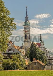 Stadtkirche St. Nikolaus Frauenfeld, Kanton Thurgau, Schweiz