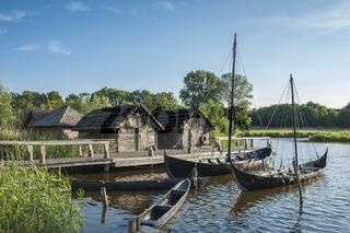 Slawendorf im Wallmuseum in Oldenburg in Holstein