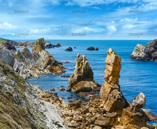 Atlantic ocean Portio Beach coastline