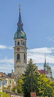 City Church  St. Nikolaus Frauenfeld, Canton Thurgau, Switzerland