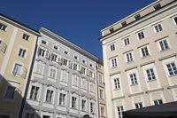 Salzburg - Old town houses, Austria