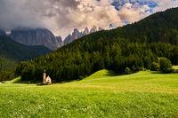 Dolomites - St. John in Ranui