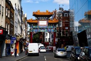 Chinatown, London, Großbritannien