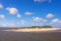 Tip of the island Amrum in the north