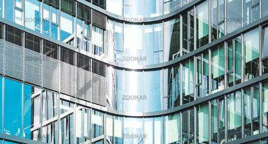 office building facade - corporate real estate background