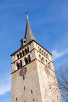 famous church Martinskirche in Sindelfingen germany