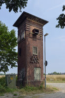 old transformer station recontructed to a wildlife station, Germany