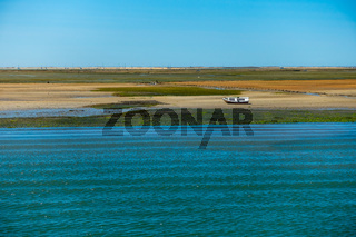 Portugal - Ria Formosa - view to the landscape
