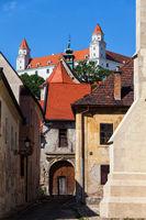 Old Town Of Bratislava Historic Architecture