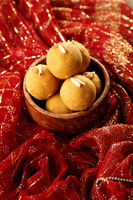 Traditional Indian Sweet - Besan Ke Laddu
