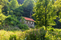 Chapel in the Wutach gorge