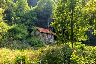 Kapelle in der Wutachschlucht